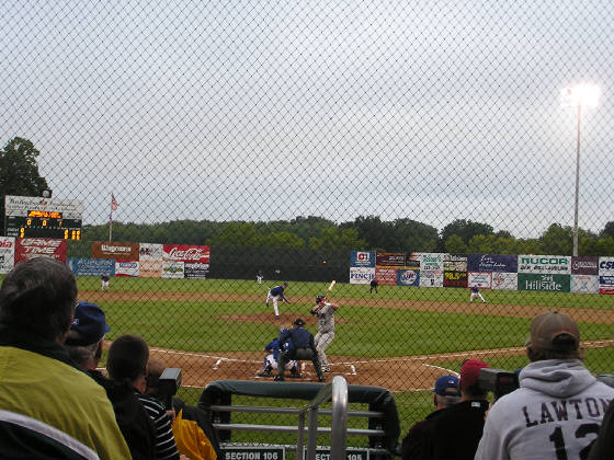 A view of the field, Falcon Park, Auburn NY