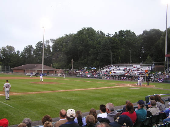 Falcon Park from the 3rd base side - Auburn NY
